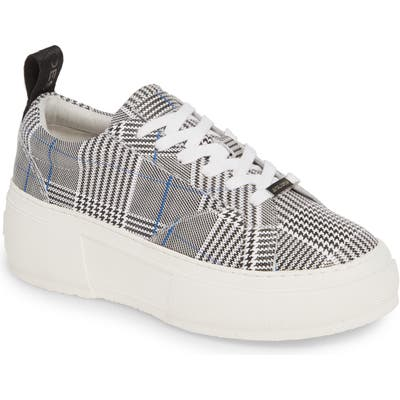 Jslides Courto Platform Sneaker- Black