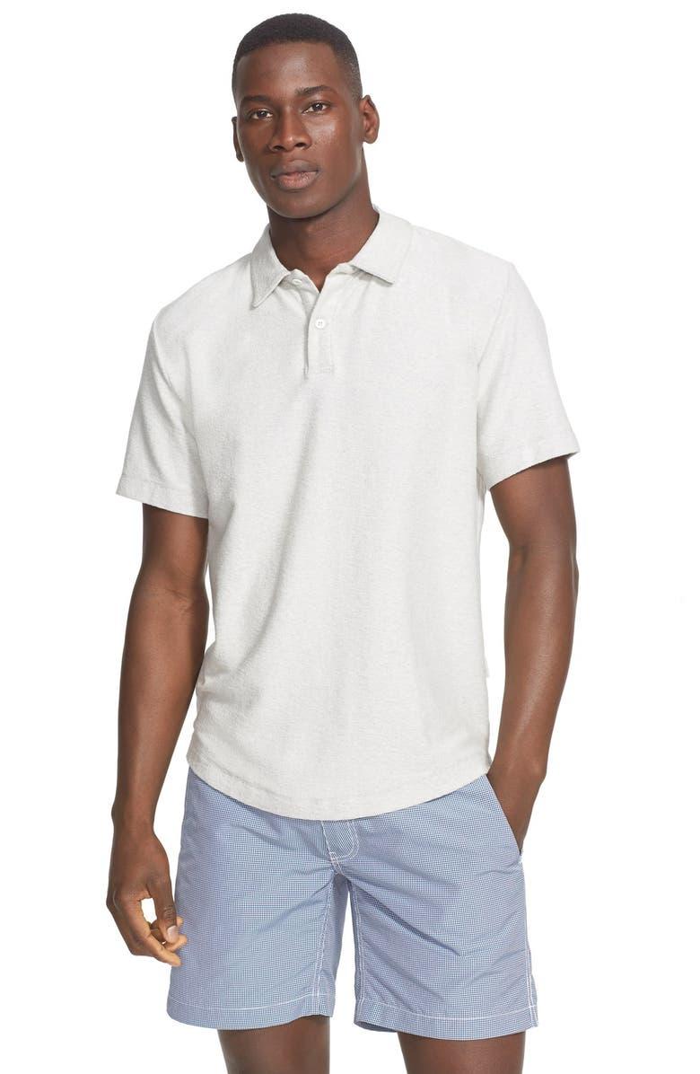 221b9e0646d4 'Alec' Reverse Terry Cloth Polo, Main, color, ...