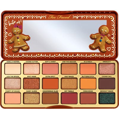 Too Faced Gingerbread Extra Spicy Eyeshadow Palette - No Color
