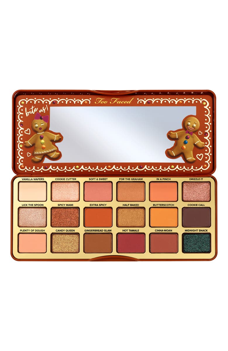 TOO FACED Gingerbread Extra Spicy Eyeshadow Palette, Main, color, 000