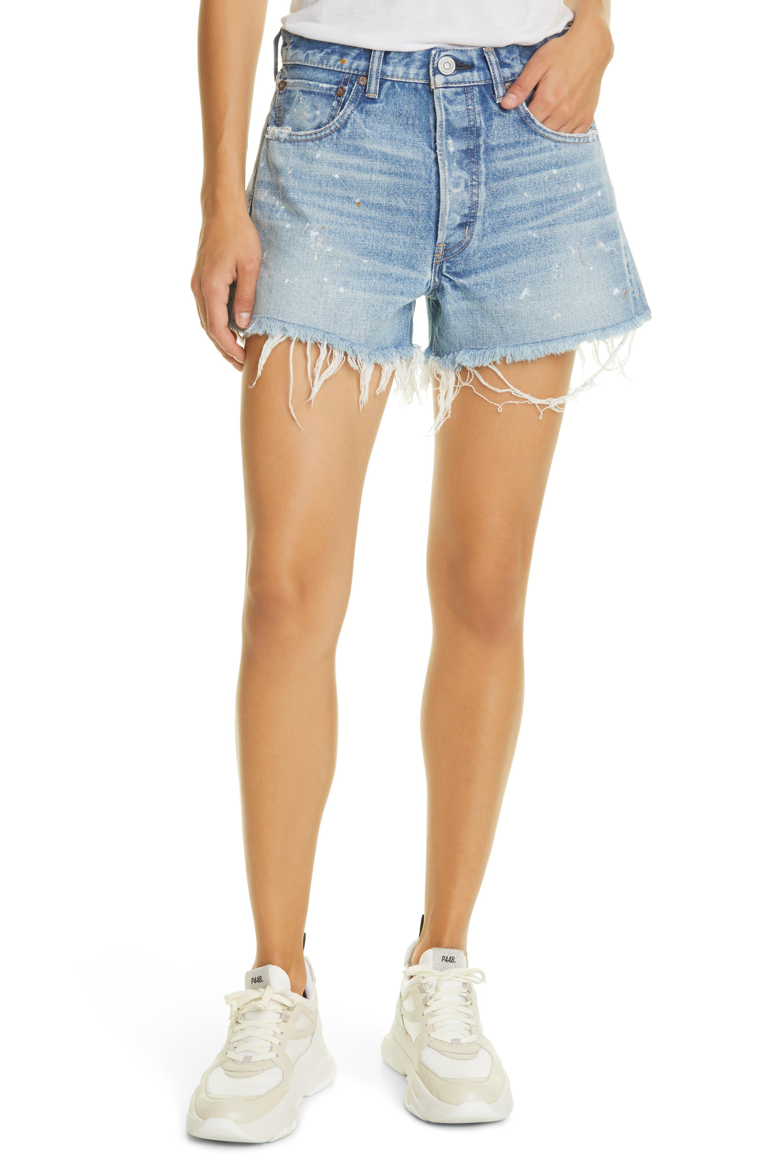 Nadine Cutoff Denim Shorts