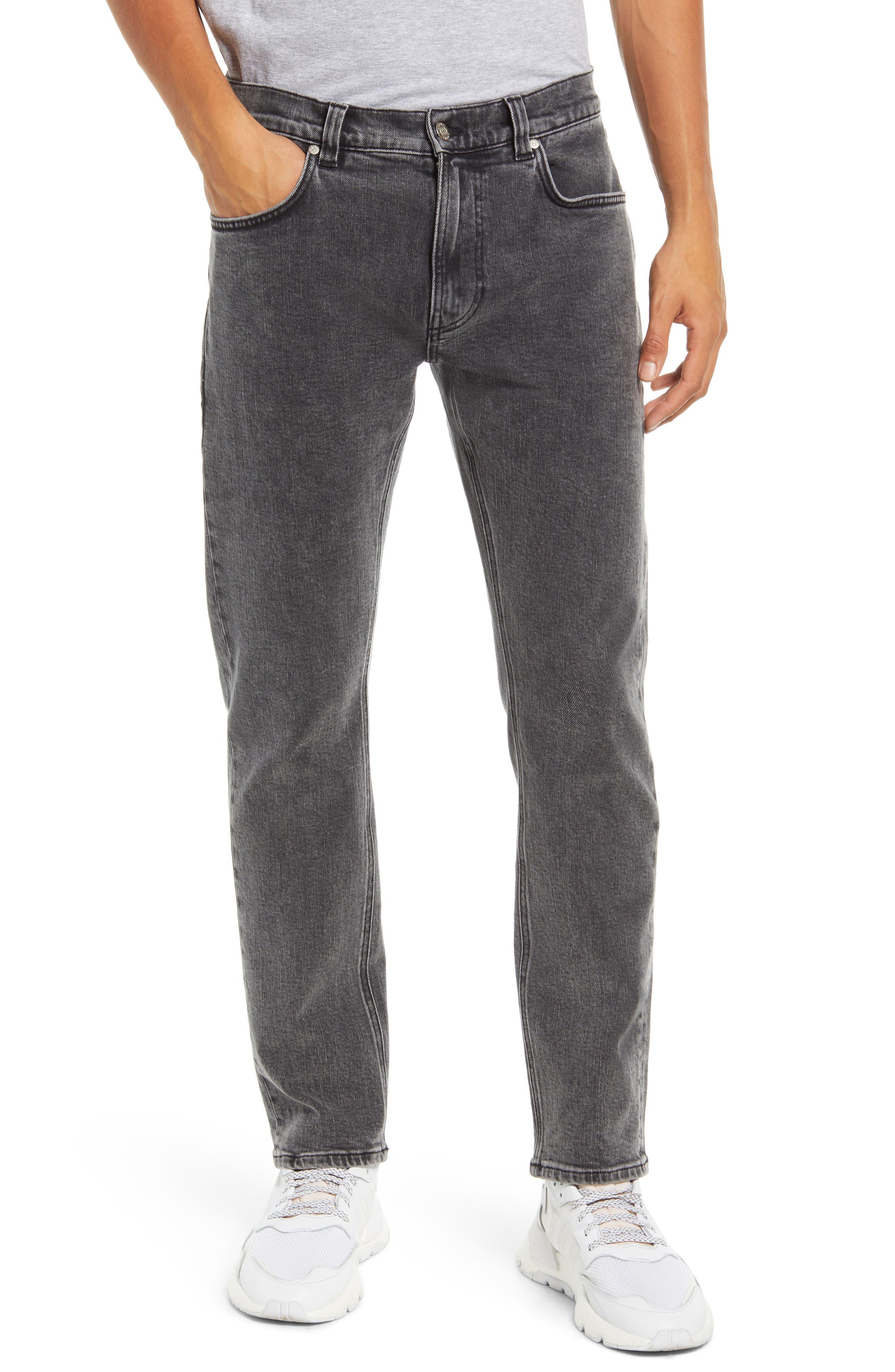Slim Tapered Stretch Organic Cotton Jeans