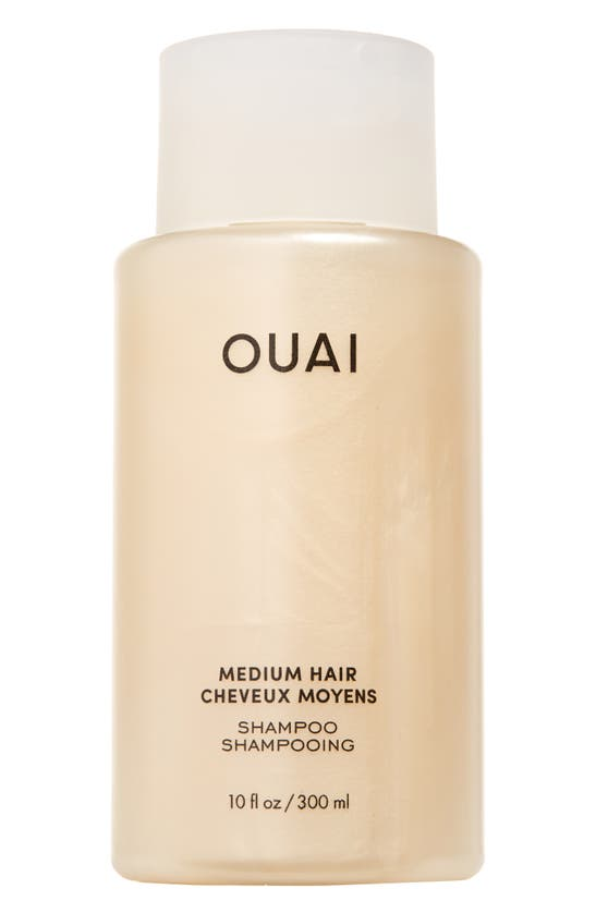 Ouai Medium Hair Shampoo 10 oz/ 300 ml In White