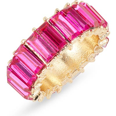 8 Other Reasons Miley Crystal Baguette Ring