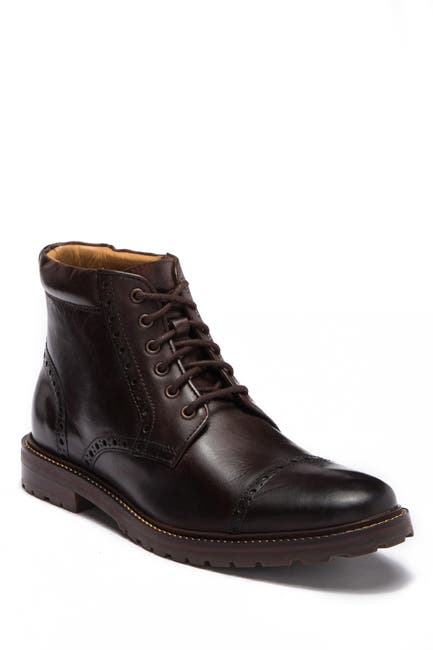 Image of Florsheim Fenway Leather Cap Toe Boot