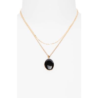 Bp. Locket Layered Necklace