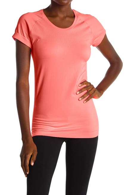 Image of Z By Zella Meridian Mesh Back Seamless T-Shirt