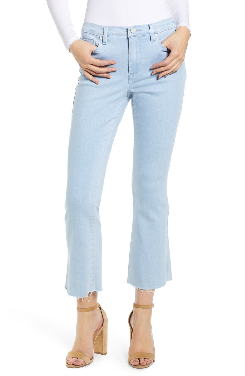 BLANKNYC The Varick Crop Flare Jeans, Main, color, 400