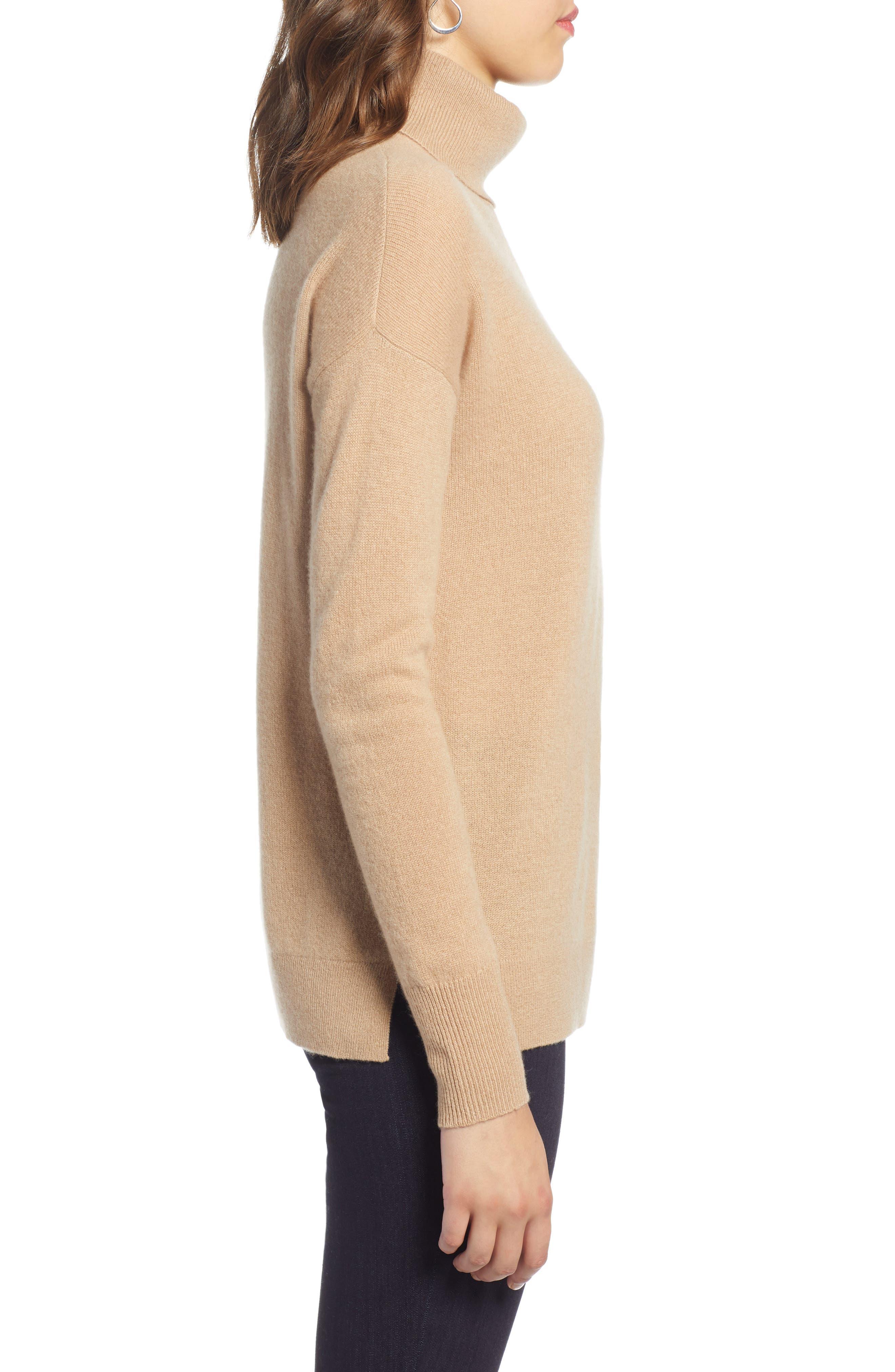 ,                             Cashmere Turtleneck Sweater,                             Alternate thumbnail 21, color,                             230