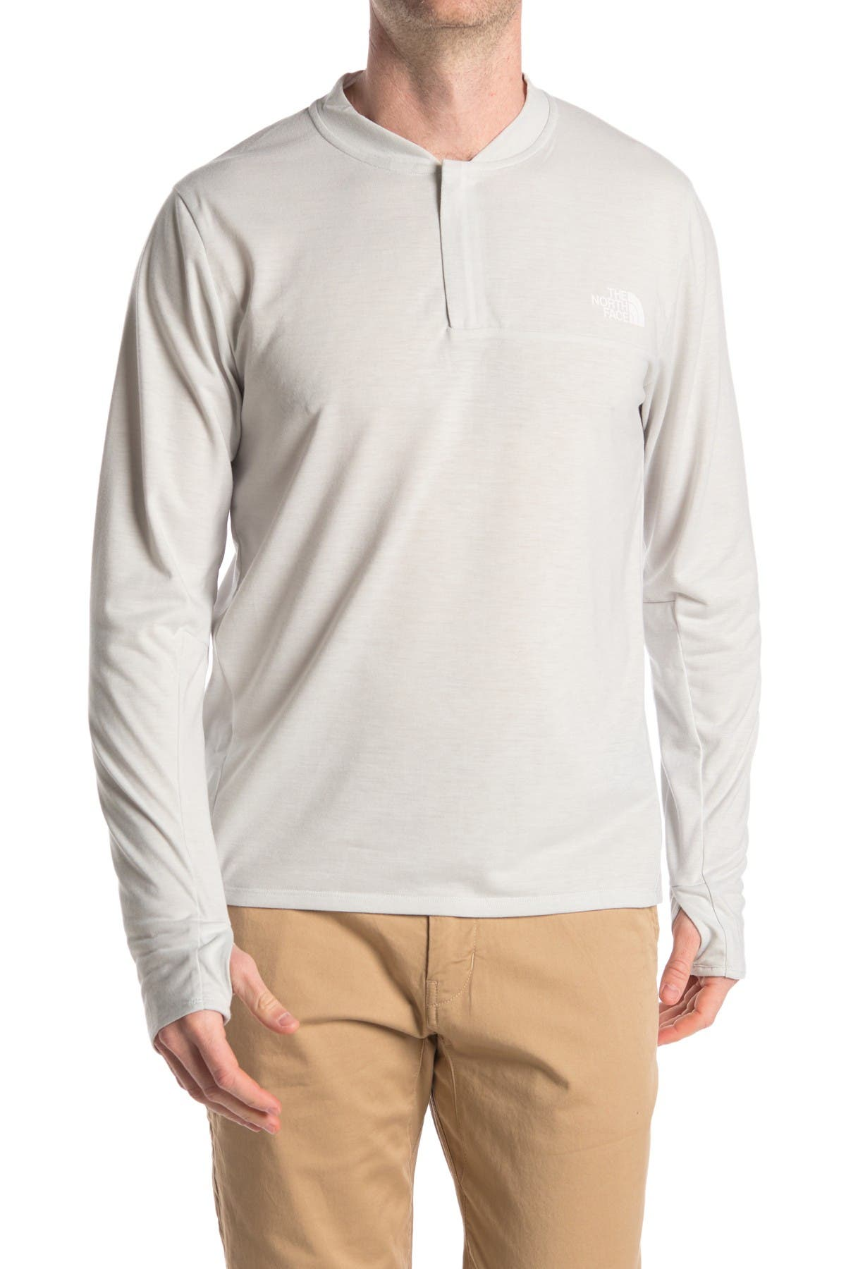 Image of The North Face Long Sleeve Thumbhole Henley