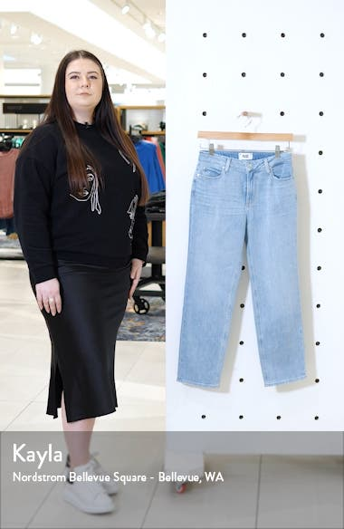 Vintage Noella High Waist Crop Straight Leg Jeans, sales video thumbnail