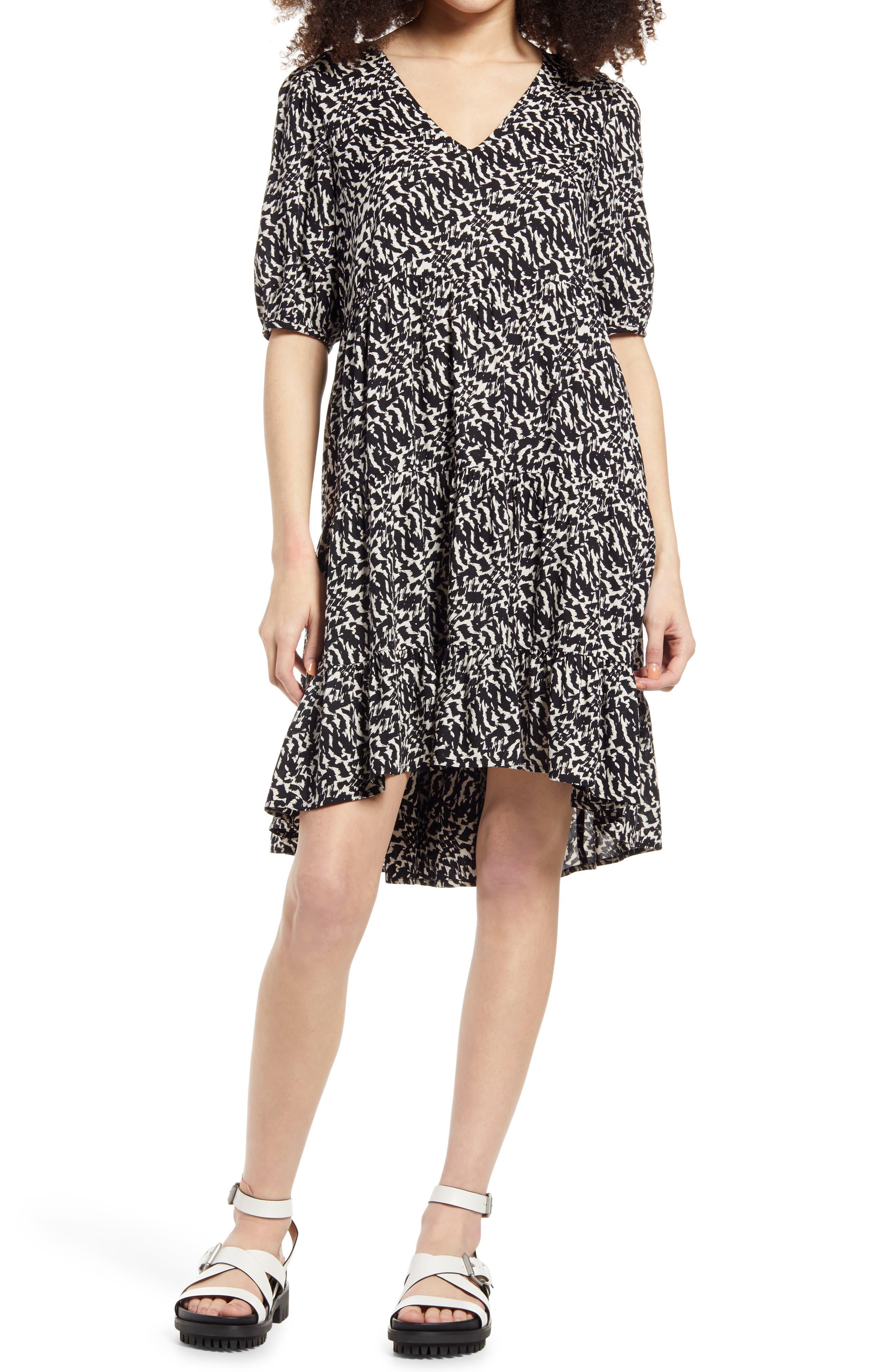 Ohanna Print Shift Dress