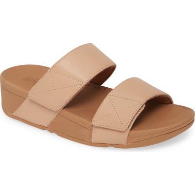 Fitflop Mina Slide Sandal, Beige