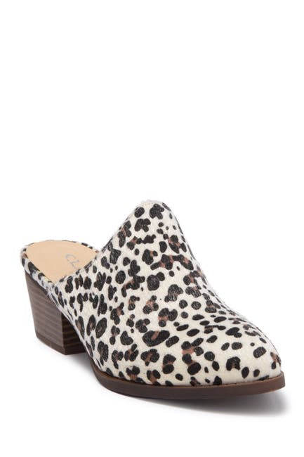 Image of Chinese Laundry Catherin Leopard Heel Mule
