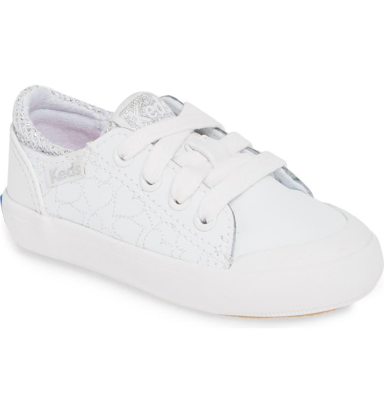 KEDS<SUP>®</SUP> Courtney Sparkle Sneaker, Main, color, 110