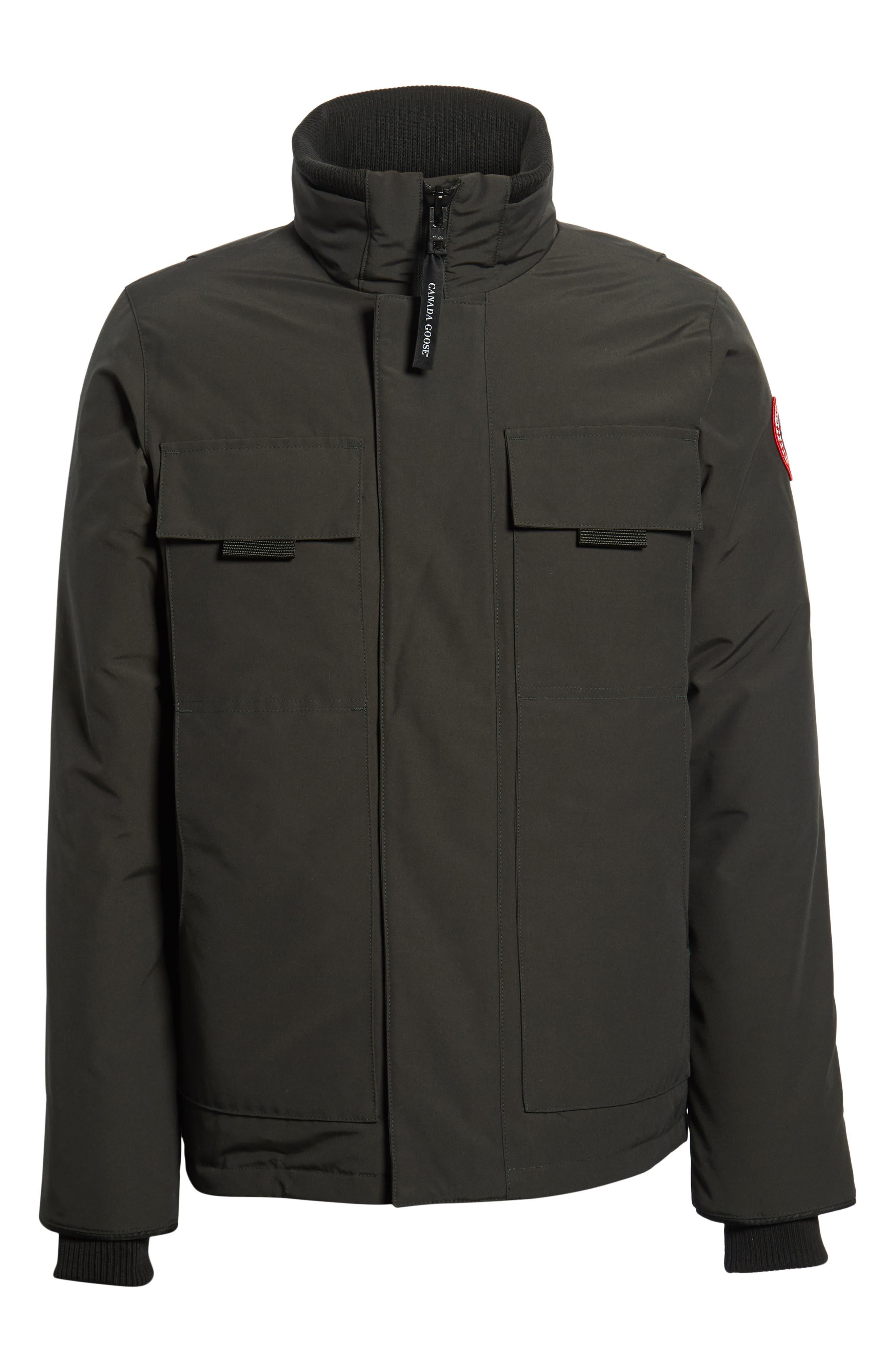 ,                             Forester Slim Fit Jacket,                             Alternate thumbnail 7, color,                             BLACK