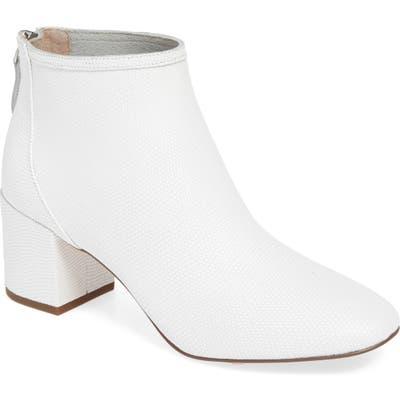 Cecelia New York Nolton Bootie- White