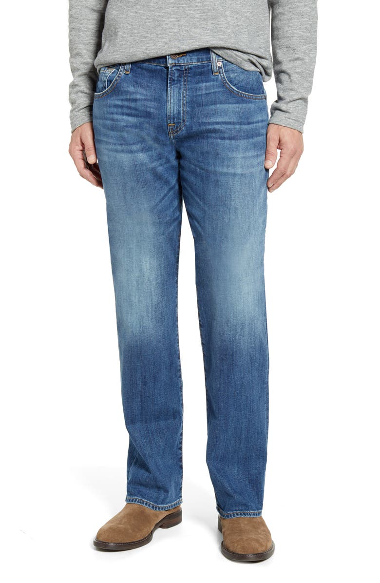 7 FOR ALL MANKIND<SUP>®</SUP> Austyn Relaxed Fit Jeans, Main, color, SWAIN