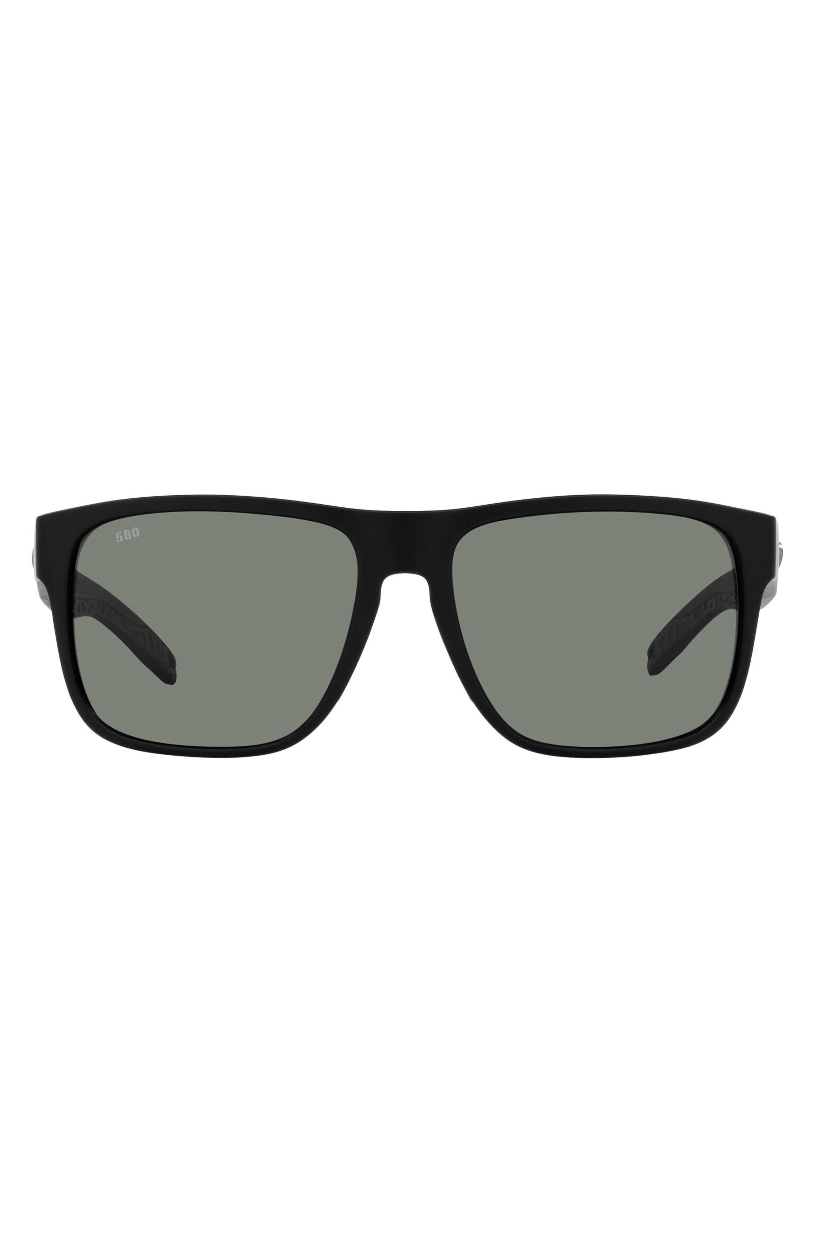 59mm Polarized Square Sunglasses