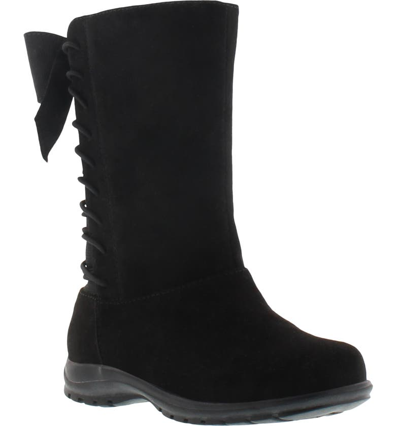 KENNETH COLE NEW YORK Kenneth Cole Dolly Lace-Up Boot, Main, color, BLACK