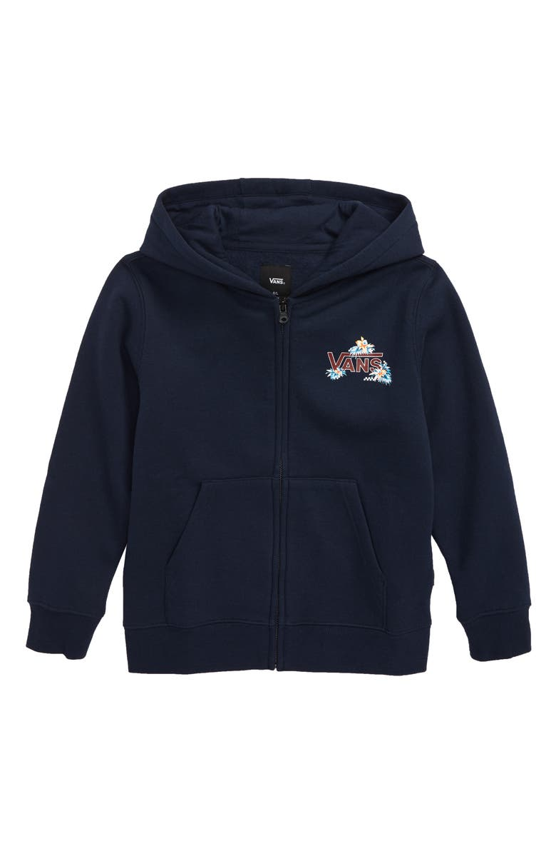 VANS Fountain Valley Zip Hoodie, Main, color, DRESS BLUES