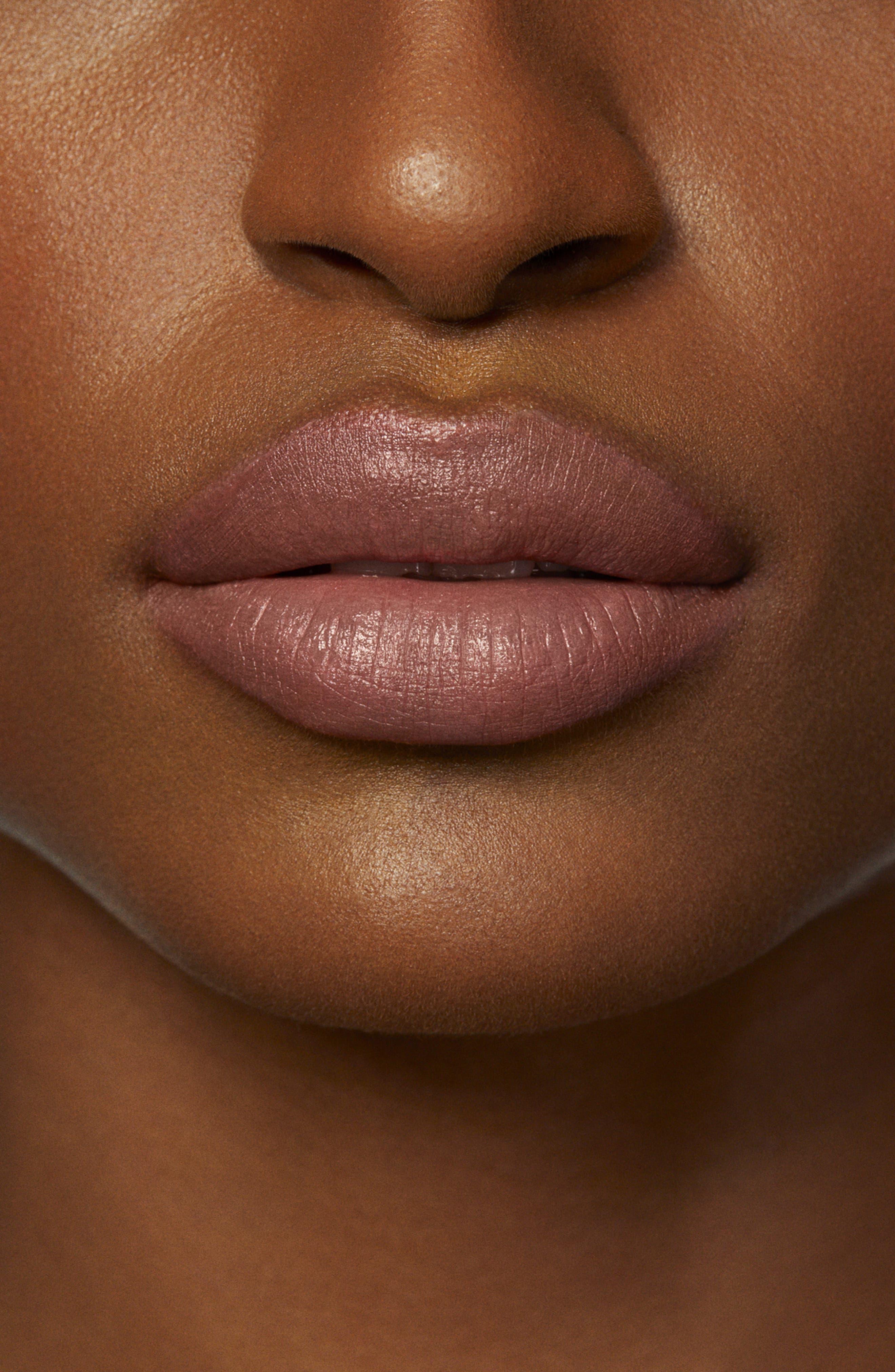 ,                             Rouge Essentiel Silky Crème Lipstick,                             Alternate thumbnail 4, color,                             BEIGE INTIME