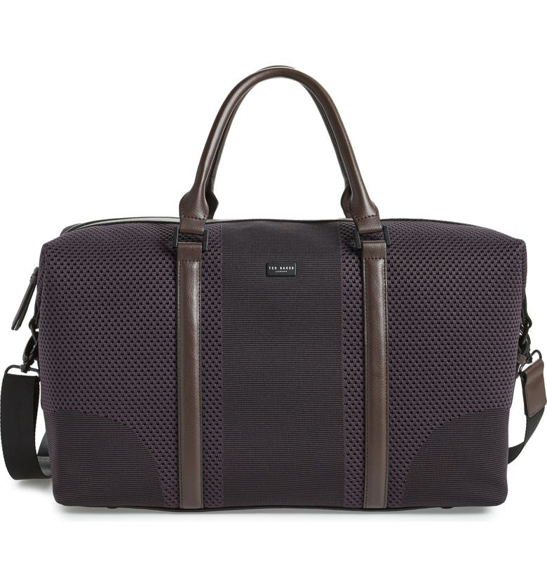 Ted Baker London Knit Holdall Duffle Bag
