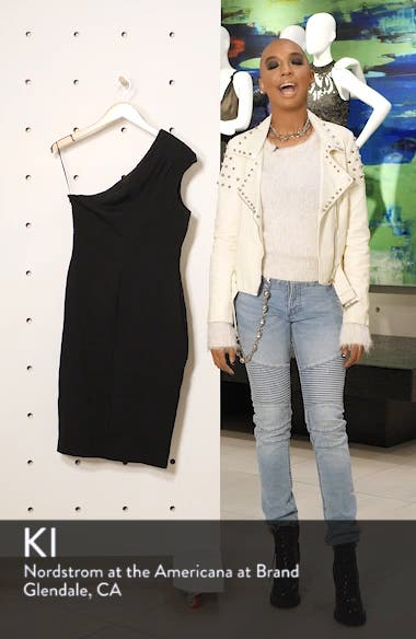 Quinn One-Shoulder Body-Con Dress, sales video thumbnail