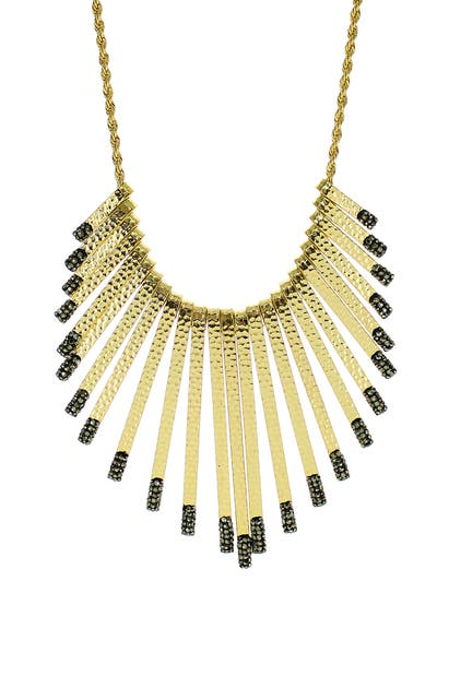 Panacea LUX TIPPED STATEMENT NECKLACE