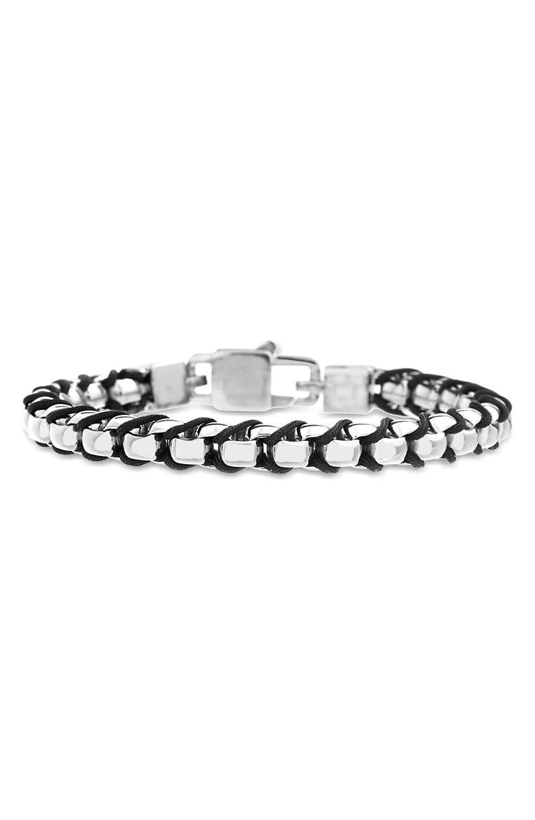 STEVE MADDEN Cord Bracelet, Main, color, MULTI