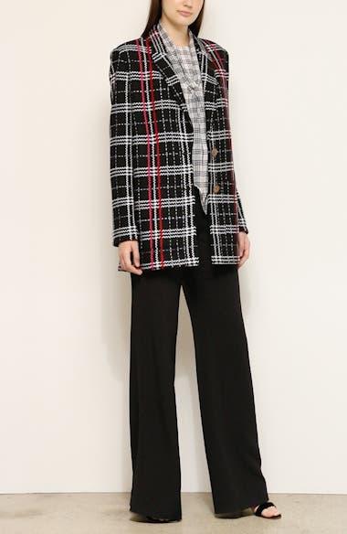 Bold Plaid Wool Blend Jacket, video thumbnail