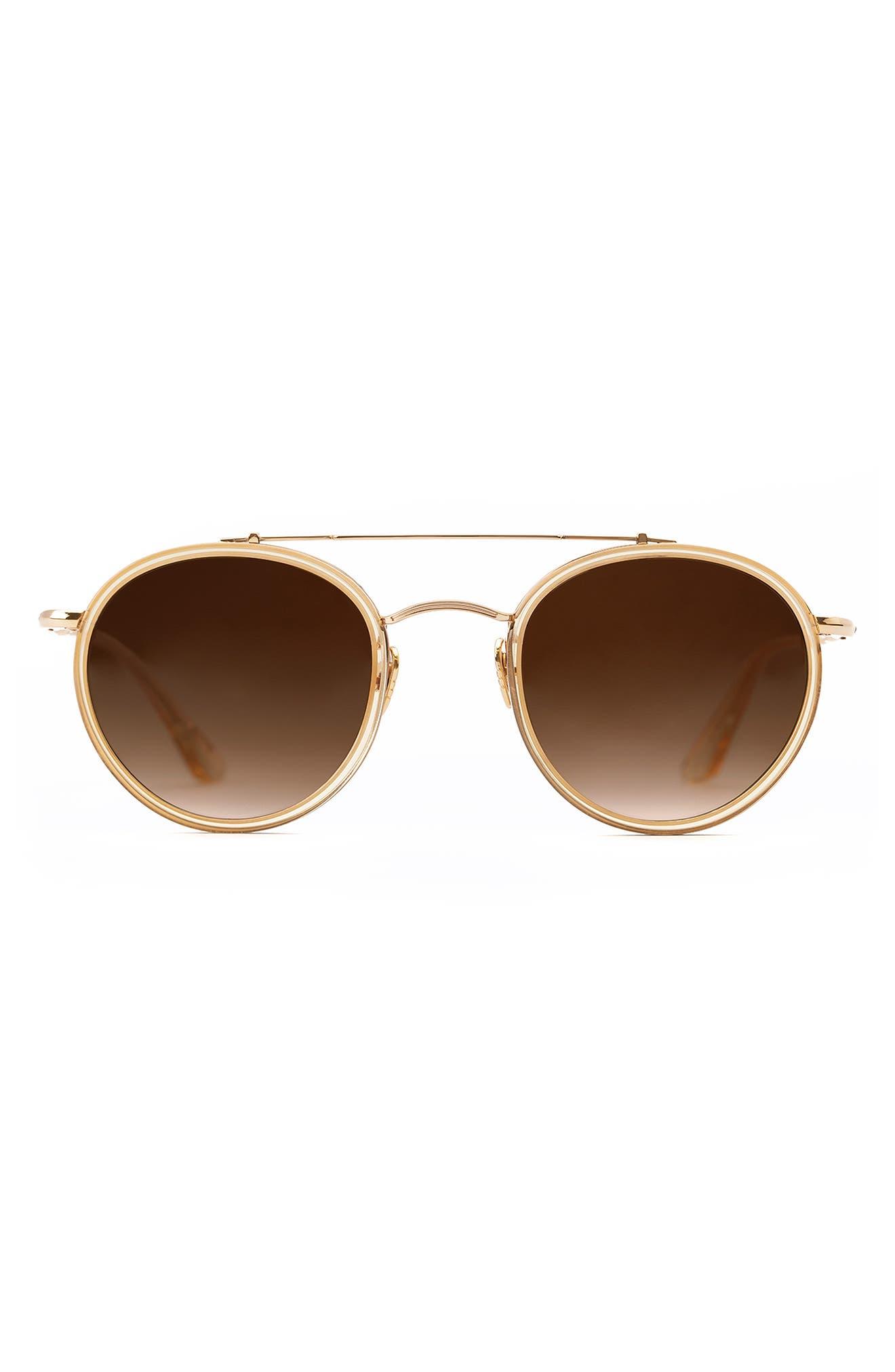 Porter 50mm Gradient Round Sunglasses