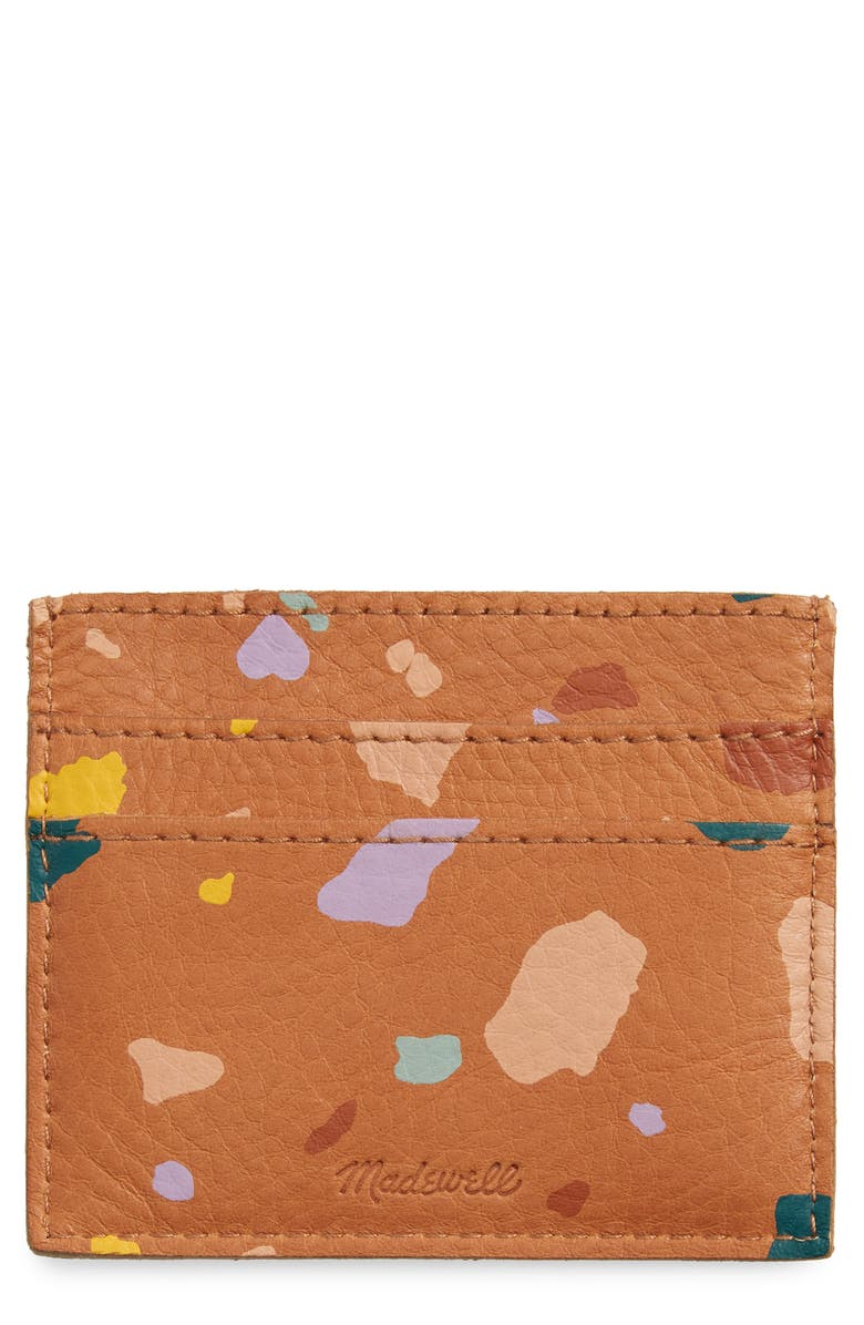 The Leather Card Case by Madewell