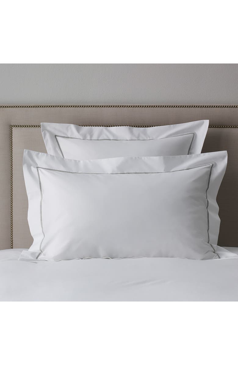 The White Company Luxury Savoy 200 Thread Count Euro Sham