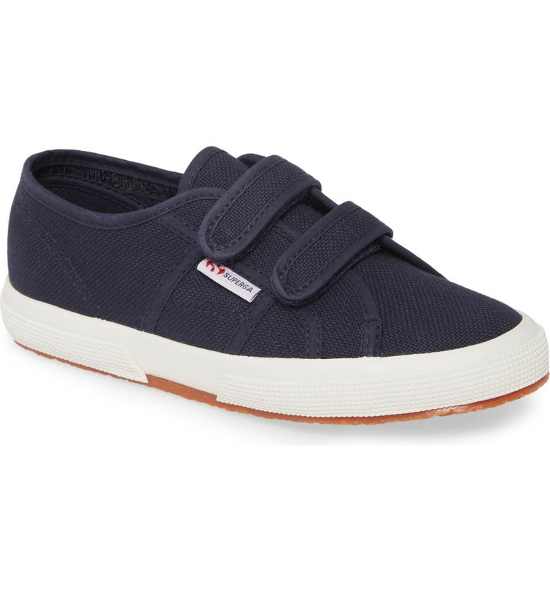 SUPERGA 'Junior Classic' Sneaker, Main, color, NAVY/ NAVY