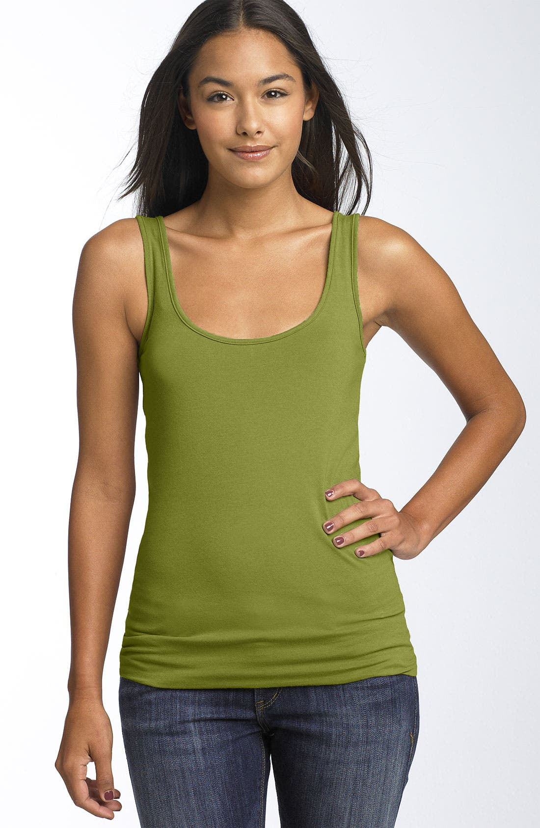 ,                             Double Scoop Neck Tank,                             Main thumbnail 109, color,                             303
