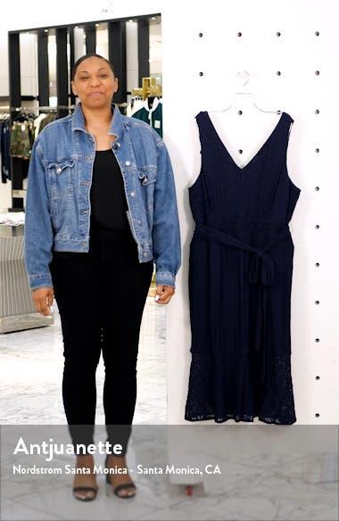 Corded Lace Midi Dress, sales video thumbnail