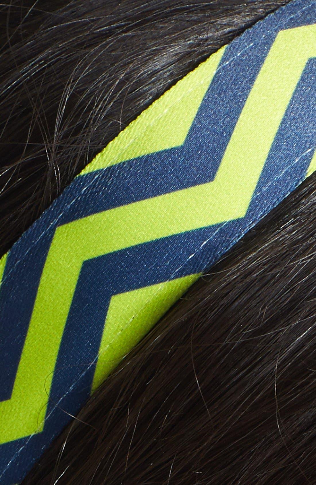 ,                             'Chevron Slide' Head Wrap,                             Alternate thumbnail 14, color,                             400