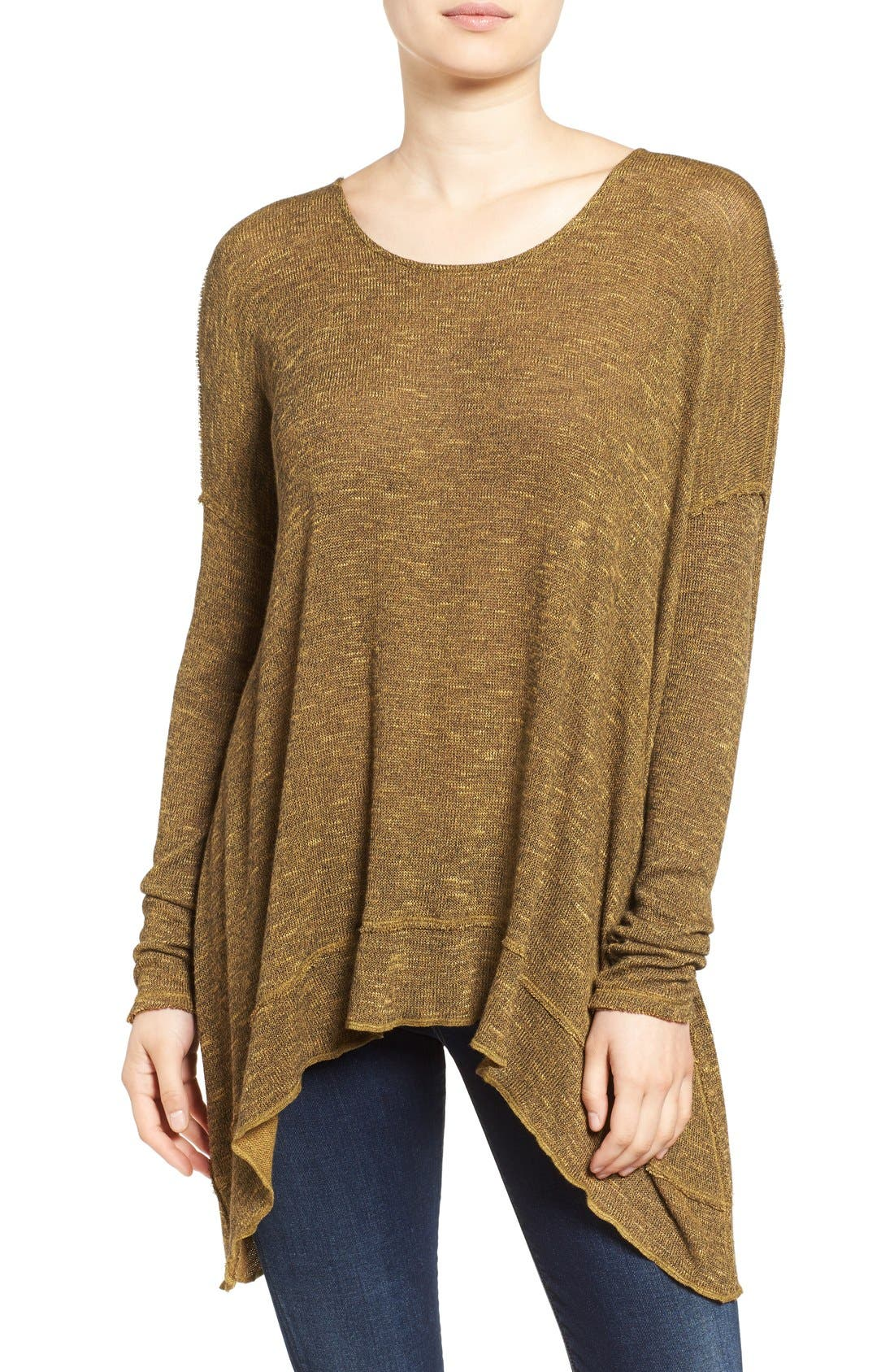 ,                             'Shadow' Oversize Hacci Open Back Top,                             Main thumbnail 20, color,                             730