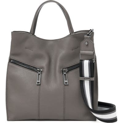 Botkier Trigger Pebbled Leather Satchel - Grey