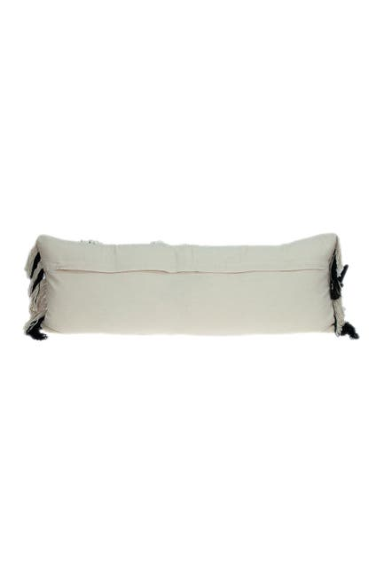 Image of Parkland Collection Minos Transitional White Throw Pillow