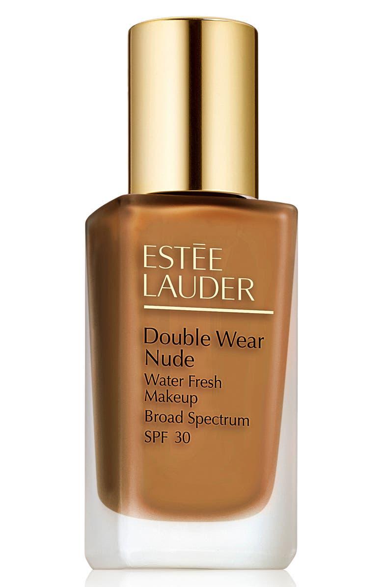 ESTÉE LAUDER Double Wear Nude Water Fresh Makeup Foundation Broad Spectrum SPF 30, Main, color, 6W1 SANDALWOOD