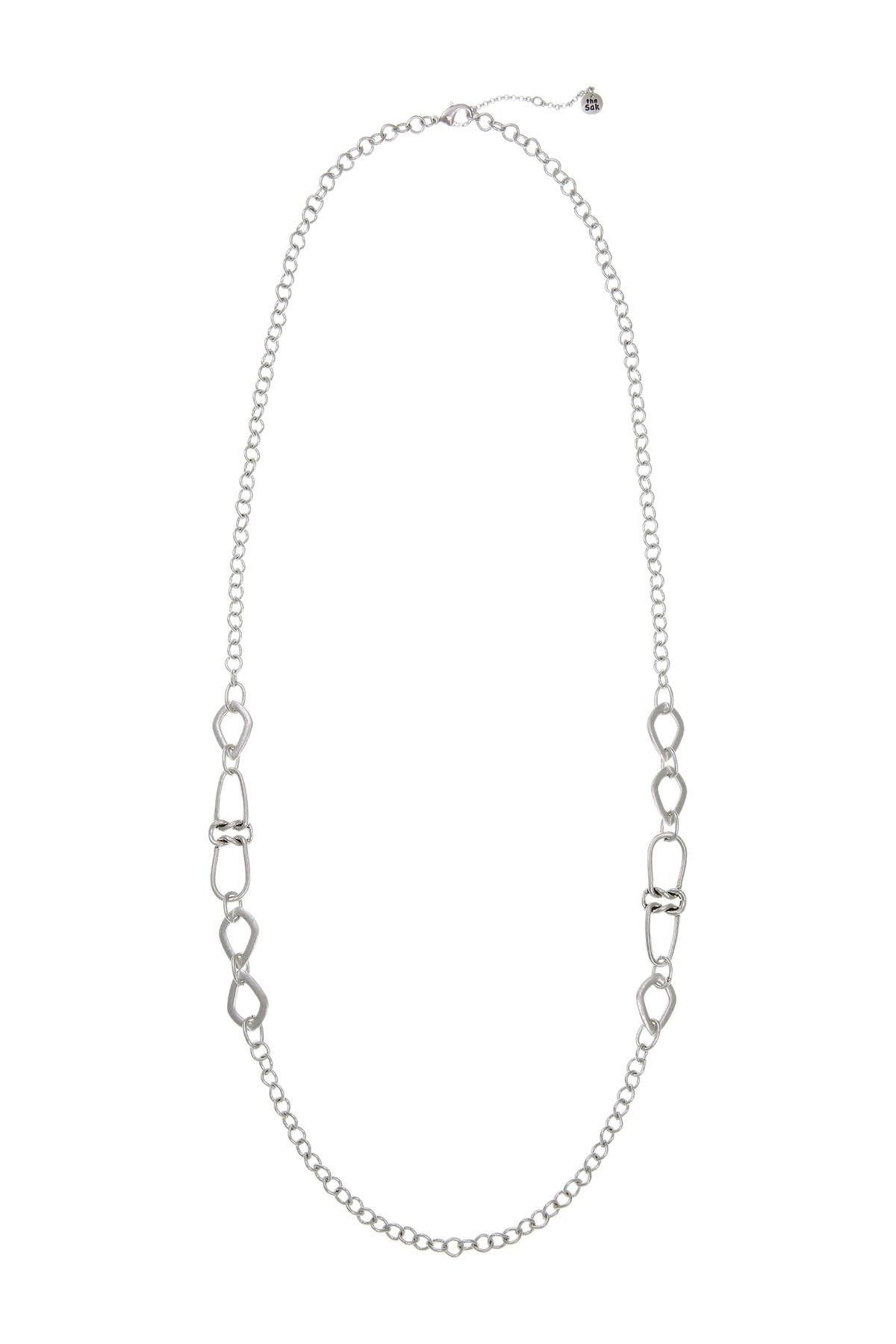 Image of The Sak Double Knot Casting Long Necklace