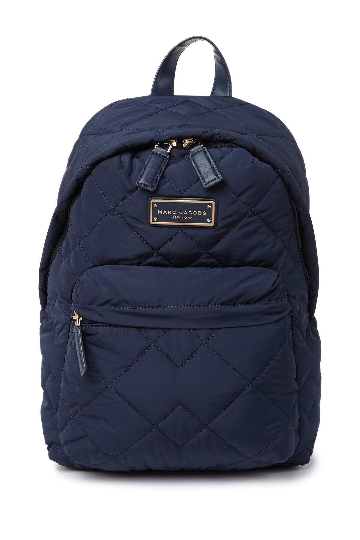 Image of Marc Jacobs Quilted Nylon School Backpack