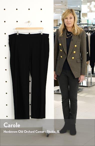 Straight Yoke Knit Pants, sales video thumbnail