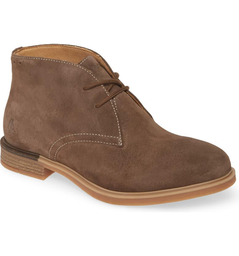 HUSH PUPPIES<SUP>®</SUP> Bailey Chukka Boot, Main, color, MUSHROOM SUEDE