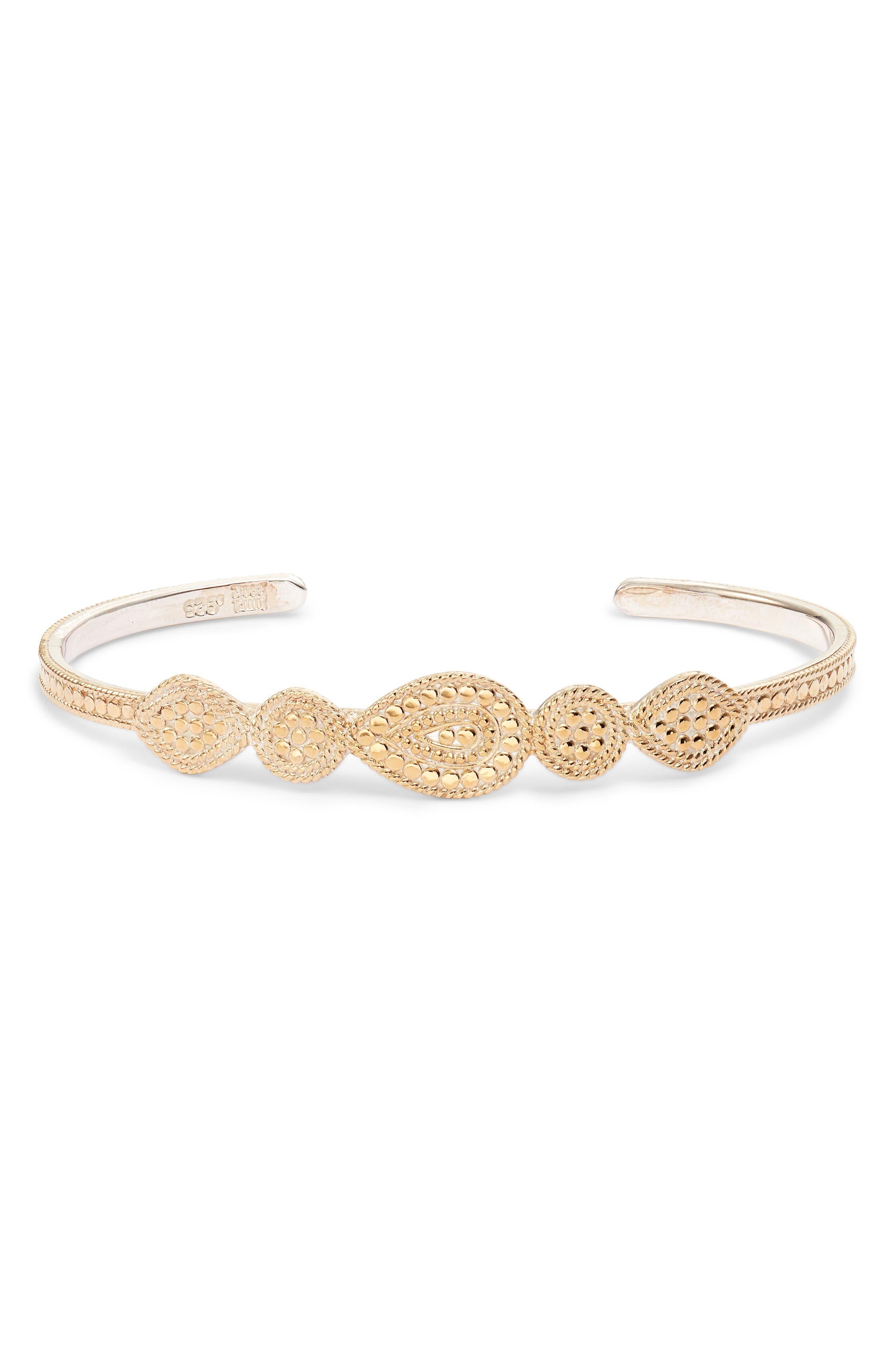 Multi Shape Cuff Bracelet