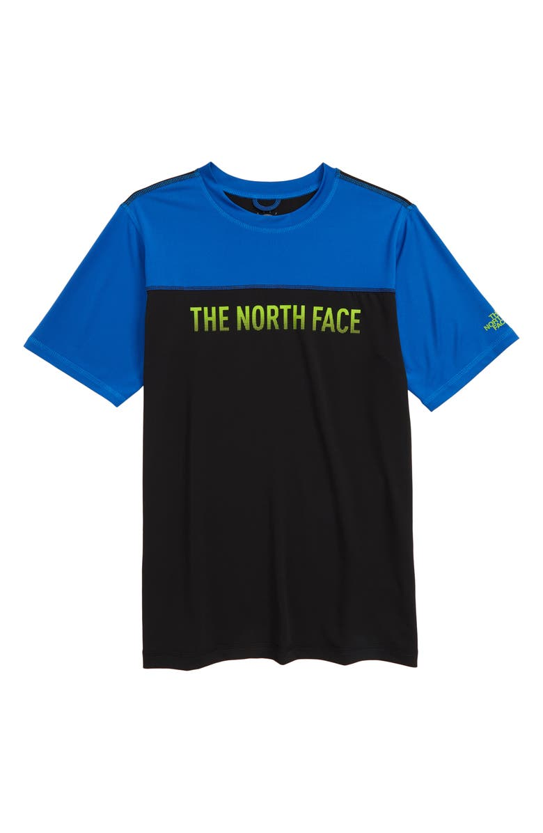 THE NORTH FACE Amphibious FlashDry<sup>™</sup> T-Shirt, Main, color, 401