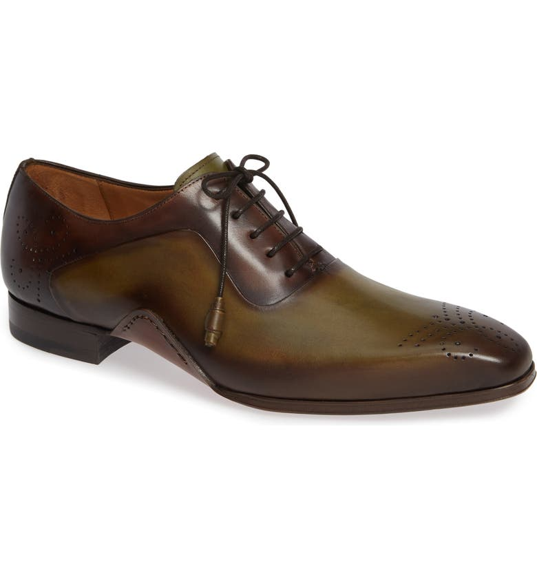 MEZLAN Ferrara Medallion Toe Oxford, Main, color, 384