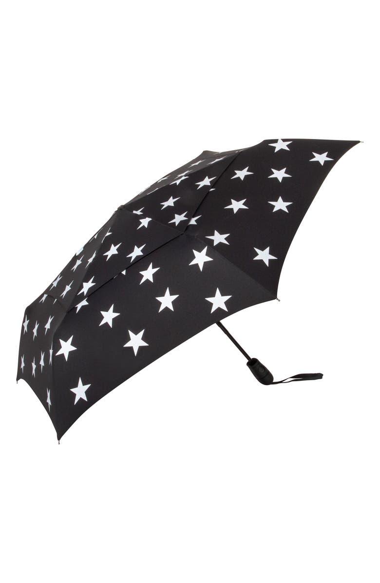 SHEDRAIN WindPro<sup>®</sup> Auto Open & Close Umbrella, Main, color, FIVE POINT SILVER
